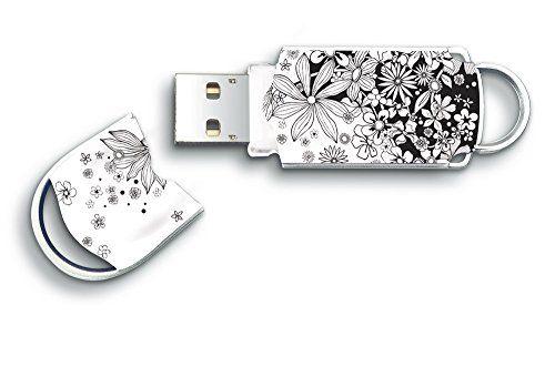 From 8.99 Integral Xpression Flowers - 32gb Usb Flash Drive