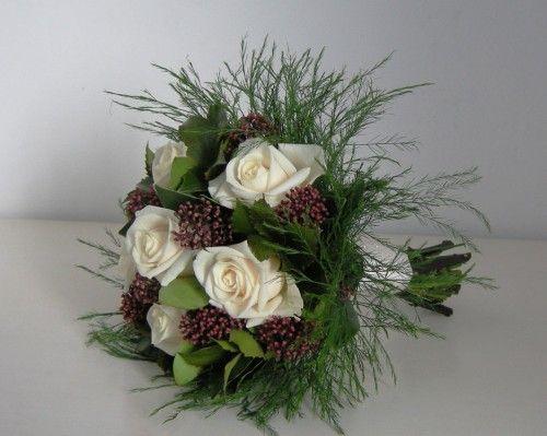 Christmas Wedding Bouquet 1