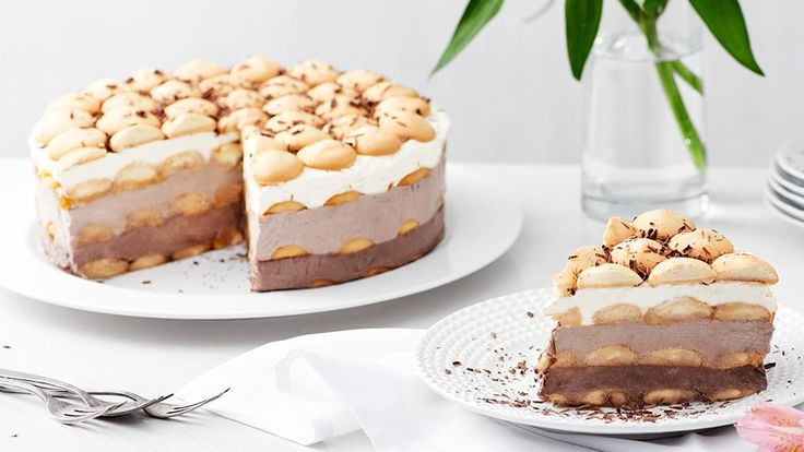nepečená piškótová torta