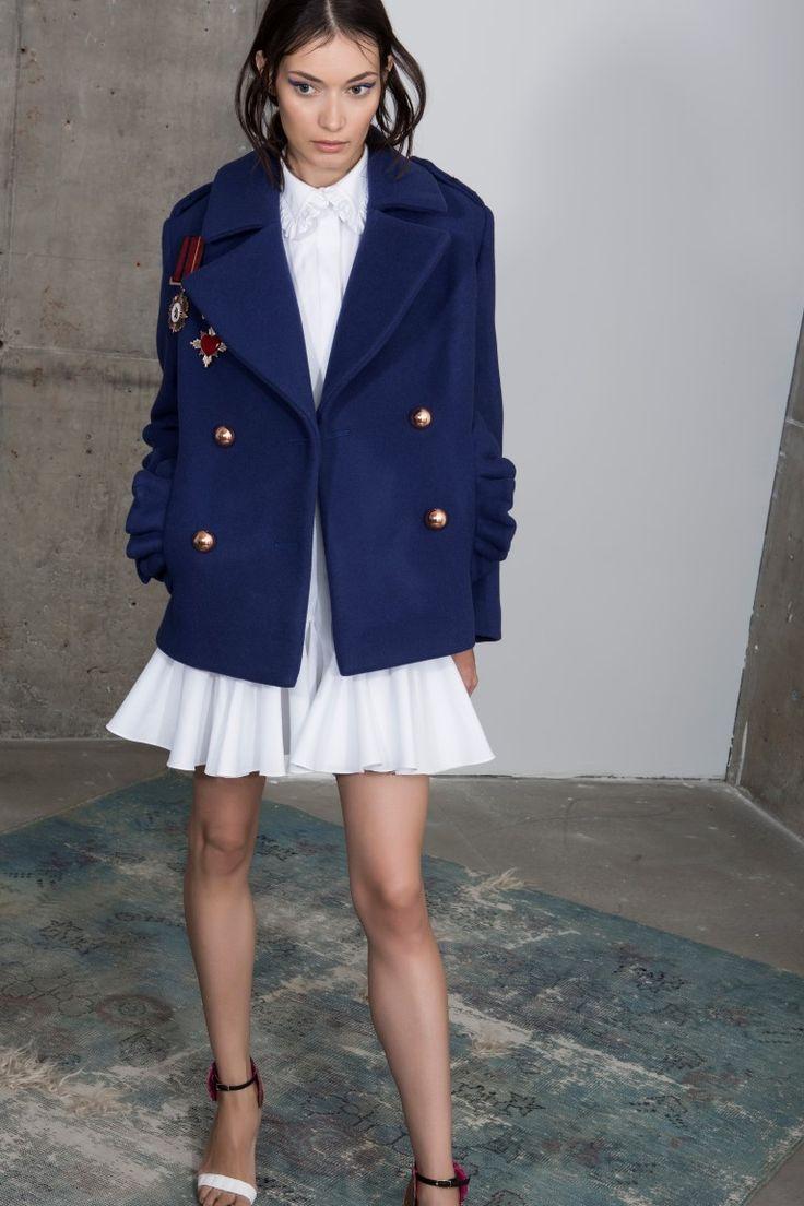 Midnite wool coat