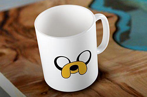 Jake the Dog Adventure Time Two Side White Coffee Mug Mug http://www.amazon.com/dp/B018S3ZHEE/ref=cm_sw_r_pi_dp_V3HEwb1RD2PB3 #mug #printmug #mugs #ceramic #coolmug #jakethedog #adventuretime