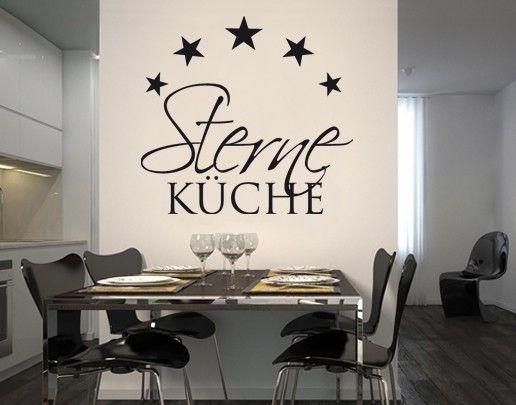 wandtattoo sprche wandworte nobr262 sternekche 3 kche kitchen - Kuchen Wandtattoo Spruche