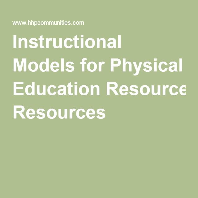 13 best Instructional Models for Physical Education images on - sample physical education lesson plan template