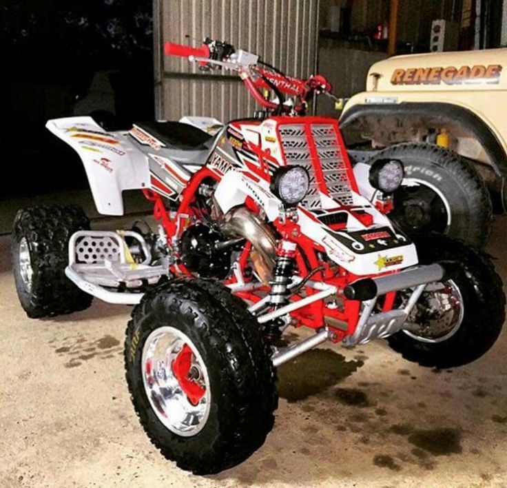 1000 images about four wheelers quads atvs on pinterest for Yamaha mini four wheelers