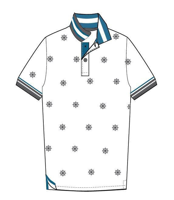 Polo Shirt Design for Giordano Philippines on Behance | K