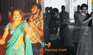 GAV Movie Bavagari Choope Song Making , Ram Charan, Kajal Agarwal, Kamalinee Mukherjee in Bavagari Choope song