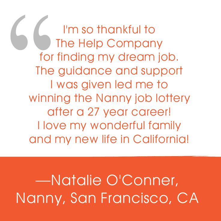 A Lovely Testimonial From Nanny Natalie Thank You Nanny Jobs