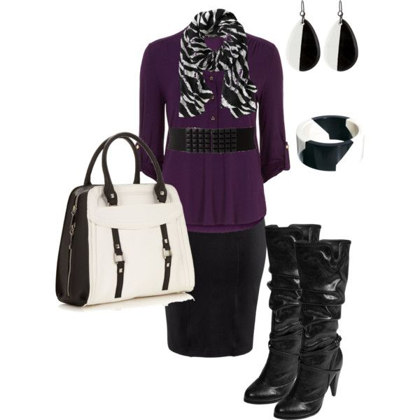A fashion look from October 2013 featuring Dorothy Perkins blouses, H&M skirts and Journee Collection boots. Browse and shop related looks.