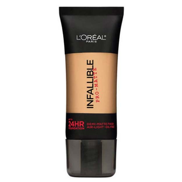 Seriously Awesome Foundations for Oily Skin - L'Oreal Paris Infallible Pro-Matte Up to 24 Hr Demi-Matte Finish Foundation - These Are The Best Foundations For Oily Skin, Some Of Which You Can Get At The Drugstore, Some Of Which Are High End. These Also Show How To Apply Them For Full Coverage These Foundations Cover Different Seasons Like Summer And Winter, And Can Help You Achieve A Matte Look, Or Help Cover Up Acne Scars. We Make Sure They Are Long Lasting and Can Be Found At The Drug…
