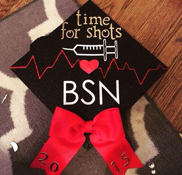 Nursing grad cap