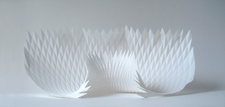 Dynamic Patterns Form Complex Geometric Paper Sculptures - My Modern Metropolis