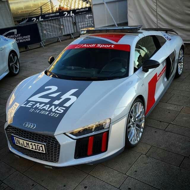 Audi R8 Safety Car Le Mans 2015 Audi Cars Pinterest Le Mans