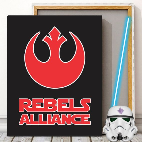 Star Wars rebels Alliance   Ready for instant download to print today. No waiting and no shipping costs!  ••• WHAT'S INCLUDED •••  • 1 JPEG file in an 8 x 10 size but can b... #starwars