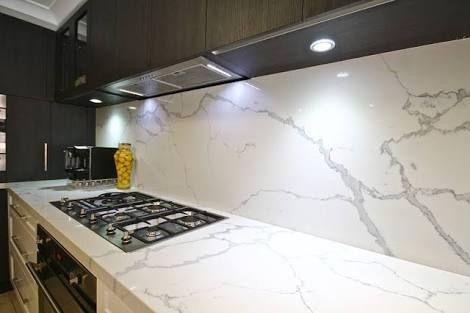 Image result for smartstone calacatta blanco kitchen
