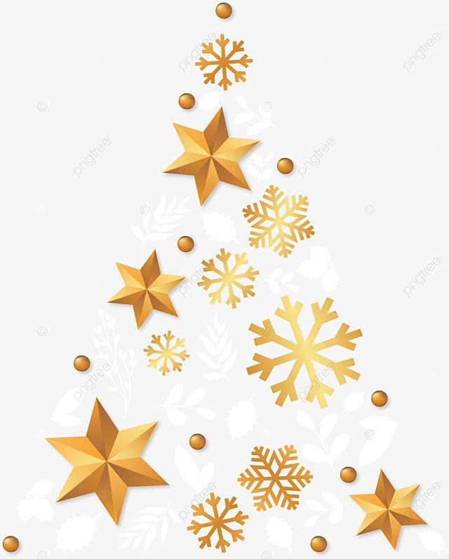 Navidad Feliz Navidad Arbol De Navidad Dorado Copo De Nieve Grafico Vectorial Y Imagen Png Arbol De Navidad Dorado Feliz Navidad Png Arbol De Navidad Plateado