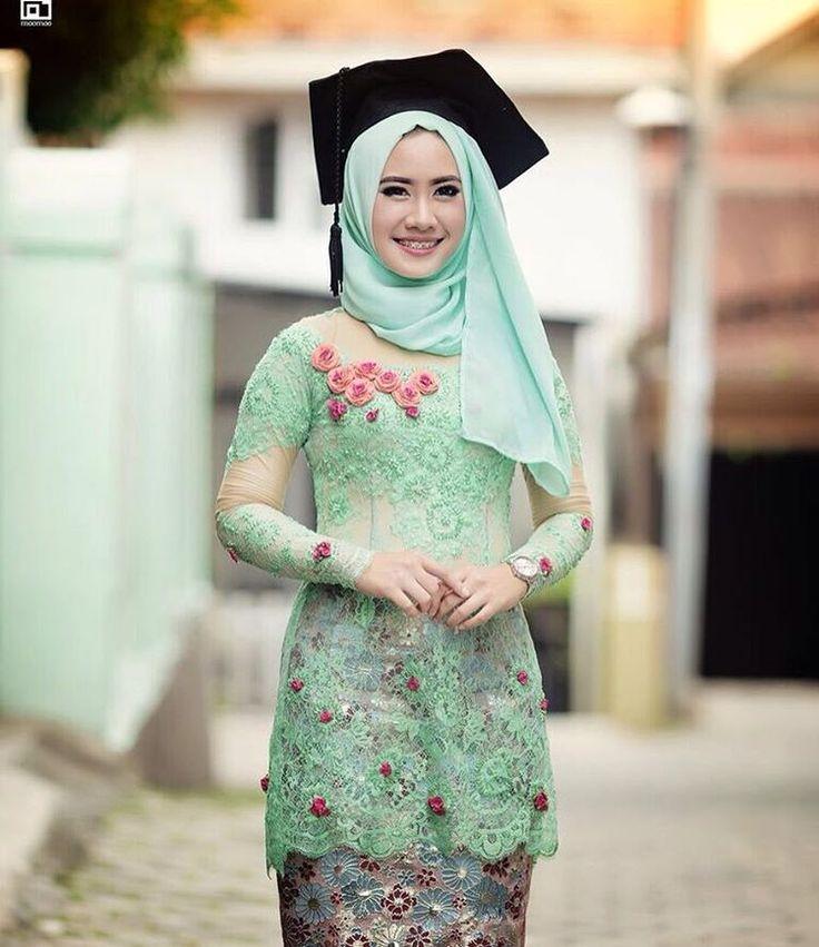 621 Best Hijab Graduation Wedding Style Kebaya Dan Hijab Wisuda Pernikahan Images On