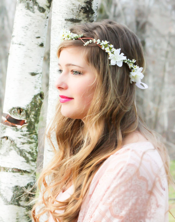 Flowers For Hair Wedding Australia : Bridal hair acessories wedding headpiece woodland flower rustic