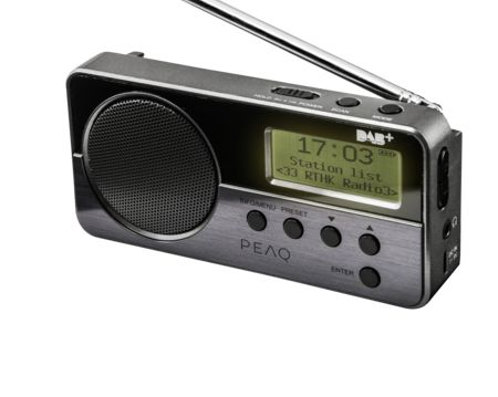 PEAQ Portable DAB+ Radio PDR050-B incl. DAB+