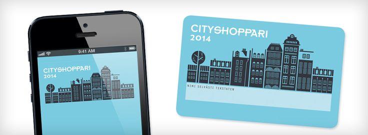 Kuukausi on pyöritelty käsissä Hopootajilta kokeiluun saatua Cityshoppari-korttia. Tai oikeammin sen mobiiliversiota. Ihan näpsäkkä. Melkoisesti hyviä tarjouksia etenkin raflapuolelta. Pahoihin sortumiin en ole retkahtanut Jos olet himoshoppari, kortista lienee ainakin jonkinverran iloa ja hyötyä. Kurkkaa nettiin ja katso, löytyykö sieltä sulle jotain….www.cityshoppari.fi/