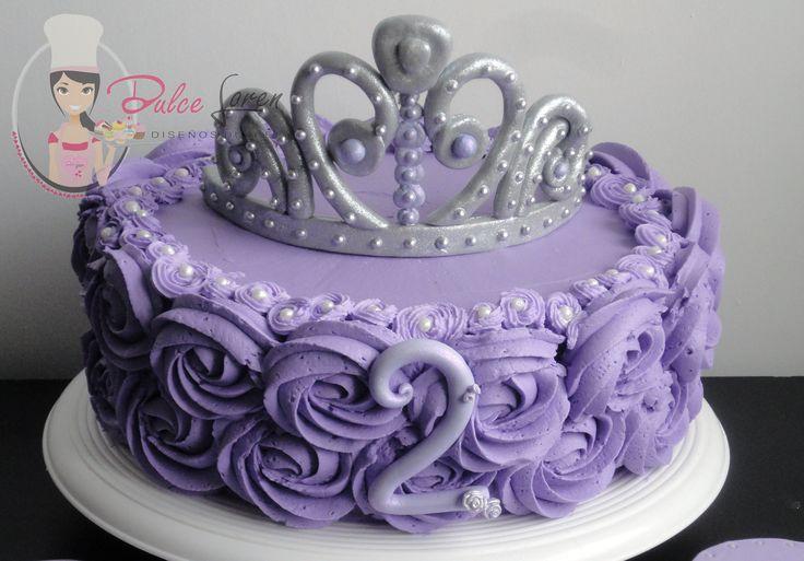#torta #princesa #sofia #corona #buttercream #cake #sofiathefirst