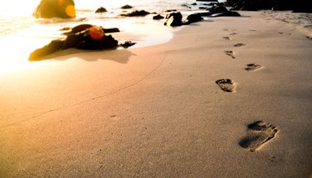 Preserving footprints. A short story of a man who unlocked hearts in an informal settlement in Africa.