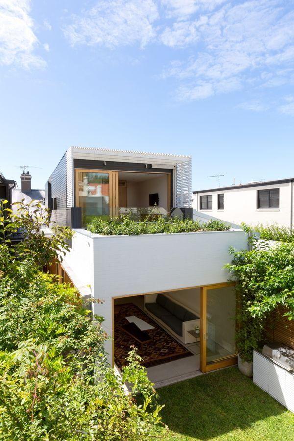 Fachadas de casas estreitas