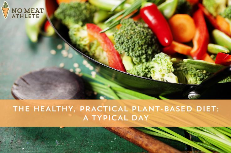 Whether you're vegan, vegetarian, or just curious, here's what a typical day on a healthy, plant-based diet looks like.