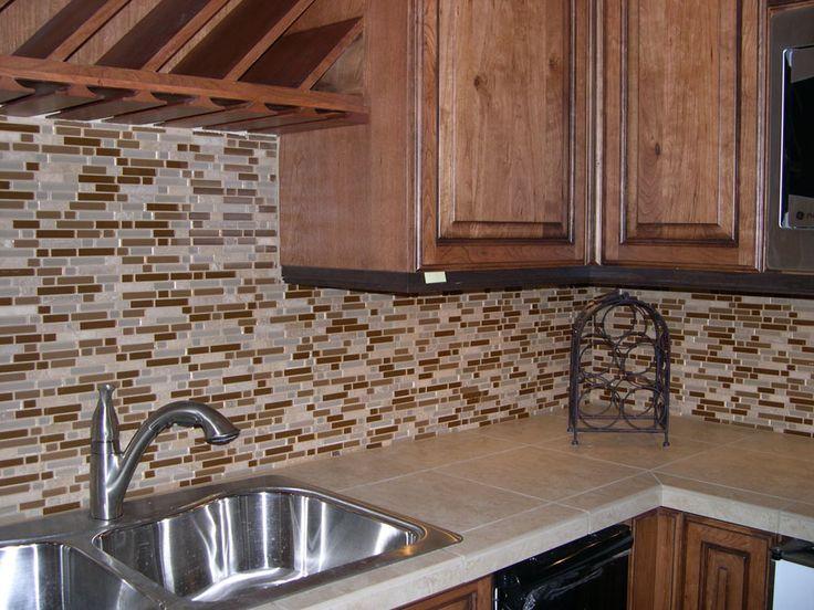 Backsplash Glass Tile Ideas stunning glass tile backsplash ideas for kitchens photos - home