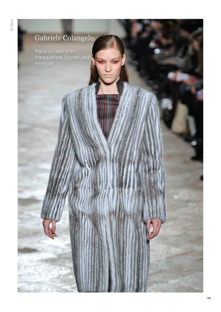 Saga Furs Stripes lookbook A/W 2013-14
