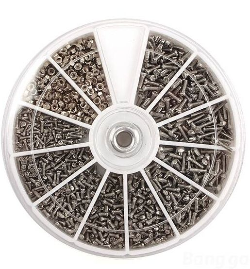 Free Shipping 1000pcs Stainless Steel Screw & Nut Set Assortment Nose Pad Optical Repair Tool For Eyeglasses Sunglass Cell Phone♦️ B E S T Online Marketplace - SaleVenue ♦️👉🏿 http://www.salevenue.co.uk/products/free-shipping-1000pcs-stainless-steel-screw-nut-set-assortment-nose-pad-optical-repair-tool-for-eyeglasses-sunglass-cell-phone/ US $8.48
