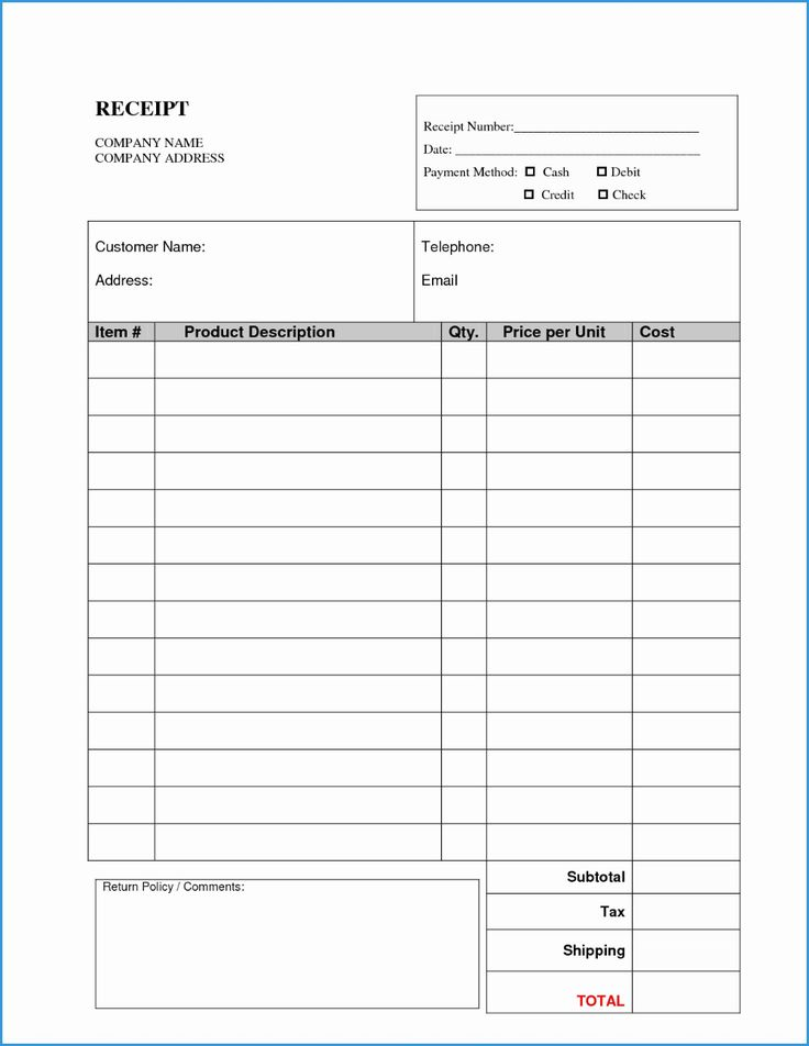 Template Ideas Blank Invoice Forms Pdf Invoice