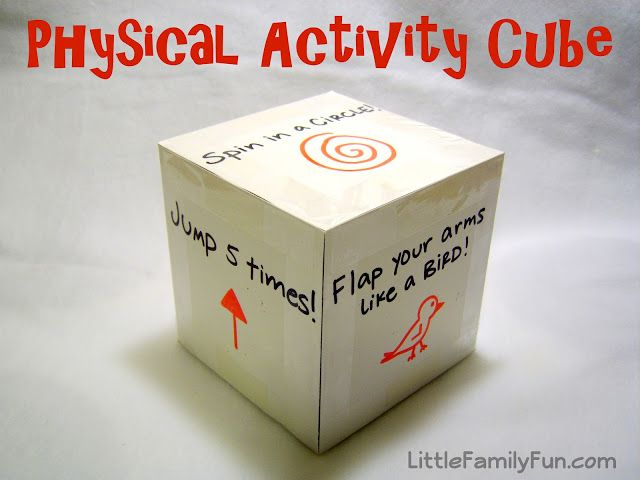 Great way to get the wiggles out and promote exercise in kids.