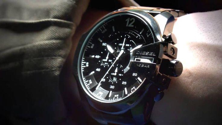 Diesel mens black ceramic analog Chronograph quartz watches DZ4283 #Diesel #Watches #menswear #Analog #Quartz #wristwatch