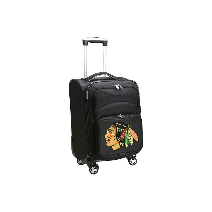NHL Chicago Blackhawks Mojo Carry-On Spinner Luggage