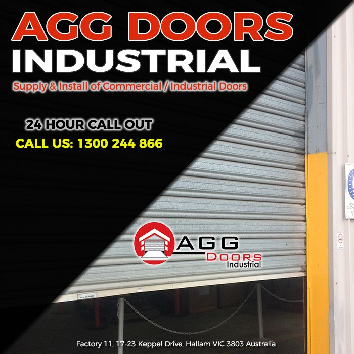 For your commercial and industrial door needs, contact AGG Doors Industrial now. We have 24 hour Call out to cater your needs - 1300 244 866  #commercialrollershutterrepair #industrialrollerdoorrepair #rollershutterrepairsMelbourne #commercialrollerdoorrepair #industrialdoorrepair
