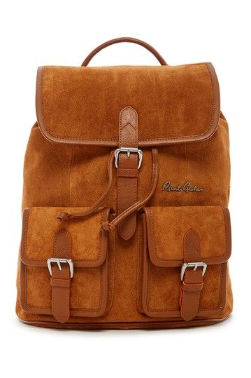 Kormi Suede Backpack by Robert Graham on @nordstrom_rack