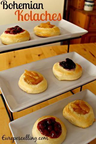 Czech Bohemian Kolaches Recipe at www.europescalling.com