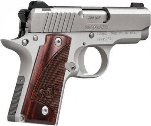 Kimber Micro Carry Stainless 380acp 6rd Rosewood $496.00 SHIPS FREE