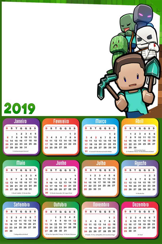 календарь с картинками на майнкрафт благ желаю