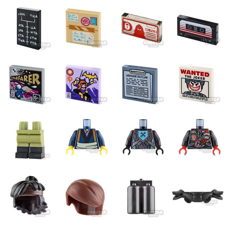 Over 50 new LEGO parts added today. www.firestartoys.com #lego #minifigures #legocustom #moc #legomoc #legominifigure #minifig #minifigs #AFOL #firestarlego #starwarslego #legostarwars #BuildToGive #batmanlego #legobatman #legospace