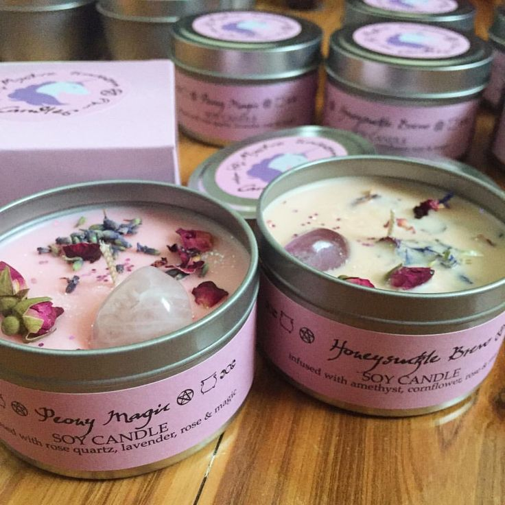 """832 Likes, 36 Comments - Unicorn Manor® (@unicornmanor) on Instagram: """"All of our #MysticUnicornCandles are handmade, 100% soy wax candles, with certified organic herbs…"""""""