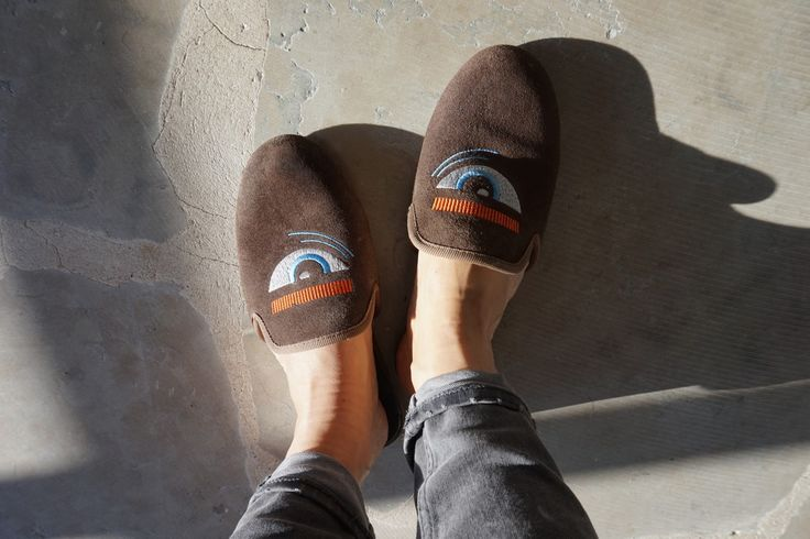 Enjoy the sunshine. Blink slippers.