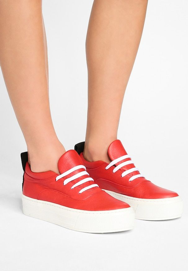 ABY Sneaker low red Dänisches Label: Won Hundred bei