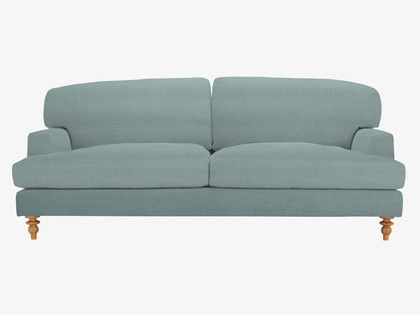 Blue 3 seat sofa (also 2 seat and armchair)