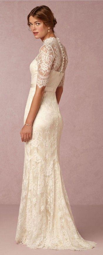Costas do Vestido de noiva LINDO!