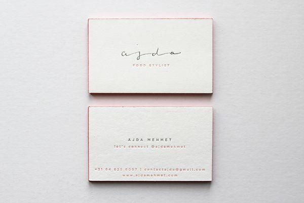 Ajda Mehmet Branding by Belinda Love Lee on Behance