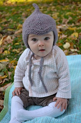 Ravelry: Alfalfa Baby Hat pattern by Kate Gagnon Osborn- So cute, and the pattern is FREE!