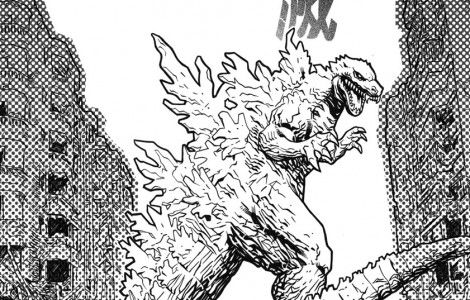 godzilla coloring pages halloween