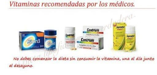 Las vitaminas: lo primordias de las mañanas.