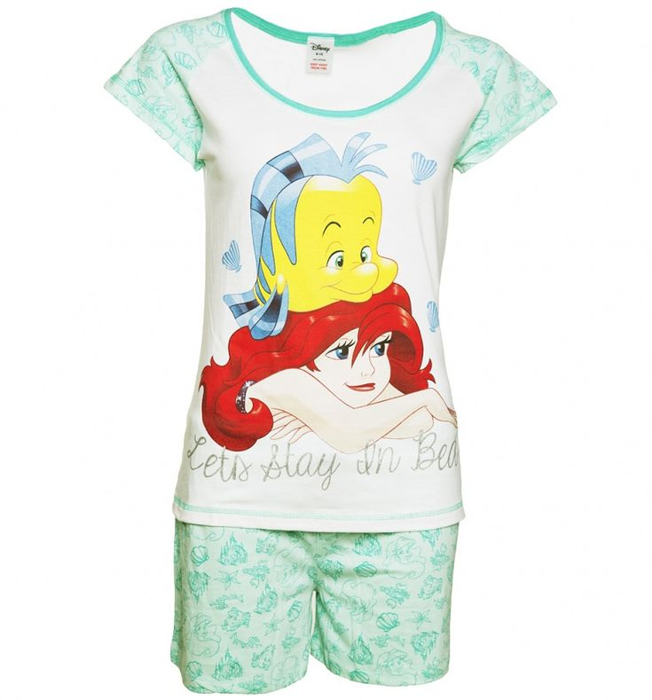 Our thoughts exactly Ariel! This fun pair of shortie #Pyjamas feature The…